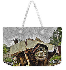 Antiques Broken Weekender Tote Bag