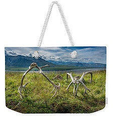 Antlers On The Hill Weekender Tote Bag