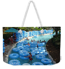 Weekender Tote Bag featuring the photograph Any Spare Tubes by David Nicholls