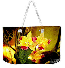 Aos Yellow Orchid 1 Weekender Tote Bag