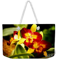 Aos Yellow Orchid 2 Weekender Tote Bag