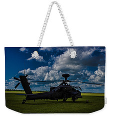 Apache Gun Ship Weekender Tote Bag by Martin Newman