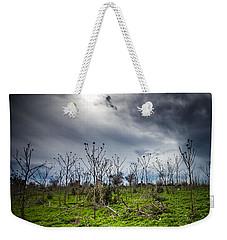 Apocalyptic Landscape Weekender Tote Bag