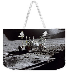 Apollo 15 Lunar Rover Weekender Tote Bag by Commander David Scott