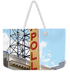 Apollo Theater Sign Weekender Tote Bag