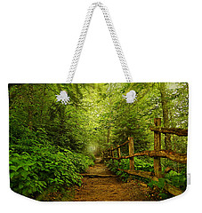 Appalachian Trail At Newfound Gap Weekender Tote Bag by Stephen Stookey