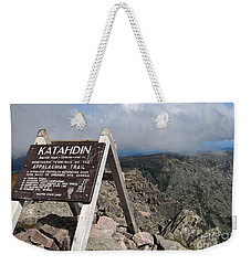 Appalachian Trail Mount Katahdin Weekender Tote Bag