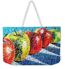 Apple A Day Weekender Tote Bag