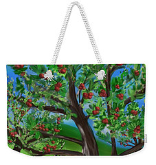 Apple Acres Weekender Tote Bag