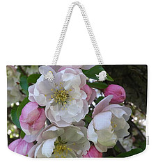 Apple Blossom Bouquet Weekender Tote Bag