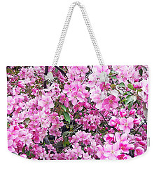 Apple Blossoms Weekender Tote Bag by Aimee L Maher Photography and Art Visit ALMGallerydotcom