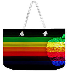 Apple Computer Inc Weekender Tote Bag by Benjamin Yeager