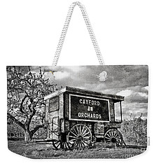 Weekender Tote Bag featuring the photograph Apple Orchard by Alana Ranney