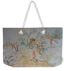 Apple Orchard Weekender Tote Bag by Esther Newman-Cohen