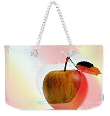 Apple Peel Weekender Tote Bag