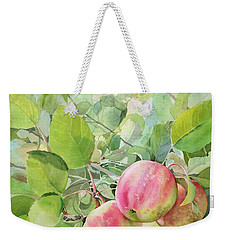 Apple Pie Weekender Tote Bag