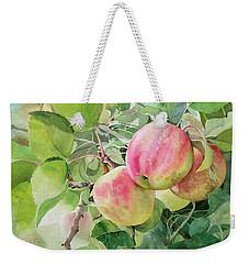 Apple Pie Weekender Tote Bag
