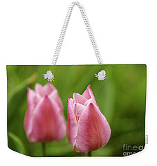 Apple Pink Tulips Weekender Tote Bag