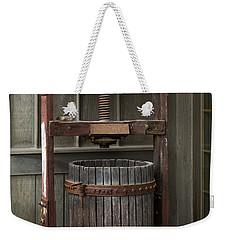 Apple Press Weekender Tote Bag by Dale Kincaid
