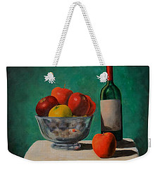Apples And Wine Weekender Tote Bag