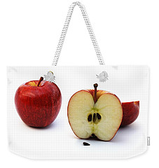 Weekender Tote Bag featuring the photograph Apples Still Life by Jocelyn Friis