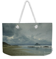 Approaching Storm - Morro Rock Weekender Tote Bag