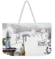 Apres-ski At Hidden Valley Weekender Tote Bag