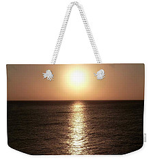 Weekender Tote Bag featuring the photograph April Sunset by Amar Sheow
