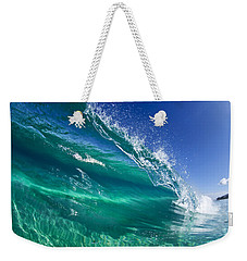 Aqua Blade Weekender Tote Bag