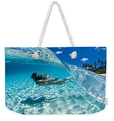 Aqua Dive Weekender Tote Bag by Sean Davey