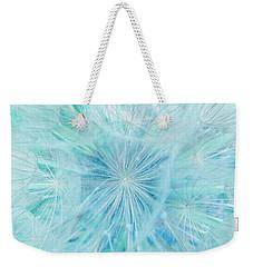 Aqua Salsify Weekender Tote Bag
