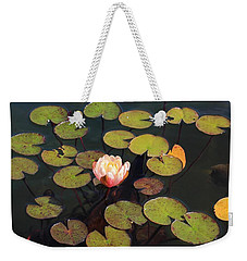 Aquatic Garden With Water Lily Weekender Tote Bag