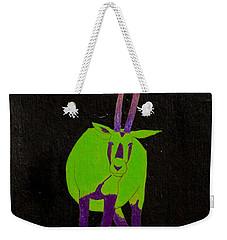 Arabian Oryx Weekender Tote Bag by Stefanie Forck