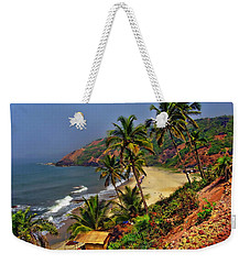 Arambol Beach India Weekender Tote Bag by Anthony Dezenzio