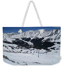 Arapahoe Basin June 2  Weekender Tote Bag by Fiona Kennard
