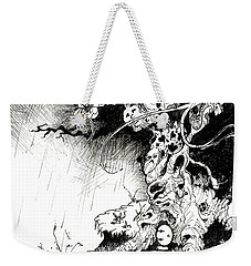Arbol Weekender Tote Bag by Julio Lopez