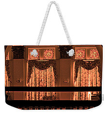 Arch Of Light In Near Night Weekender Tote Bag