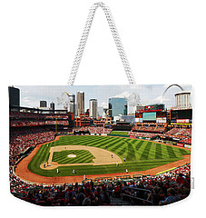 Arch Returns To The Outfield Weekender Tote Bag