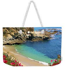 Arch Rock And Beach Laguna Weekender Tote Bag