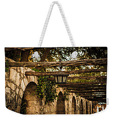 Arches At The Alamo Weekender Tote Bag by Melinda Ledsome