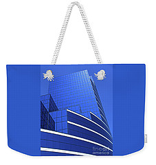 Architectural Blues Weekender Tote Bag