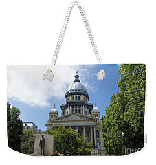 Illinois State Capitol  - Luther Fine Art Weekender Tote Bag