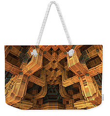 Architecture Weekender Tote Bag by Lyle Hatch