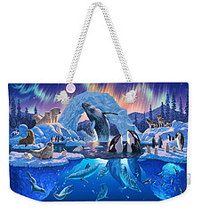 Arctic Harmony Weekender Tote Bag by Chris Heitt