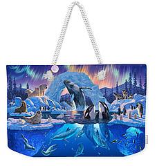 Arctic Harmony Weekender Tote Bag