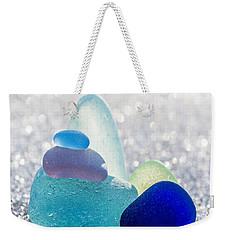 Arctic Peaks Weekender Tote Bag by Barbara McMahon