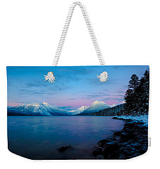 Weekender Tote Bag featuring the photograph Arctic Slumber by Aaron Aldrich