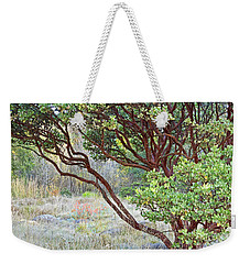 Weekender Tote Bag featuring the photograph Arctostaphylos Hybrid by Kate Brown
