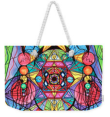 Arcturian Ascension Grid Weekender Tote Bag