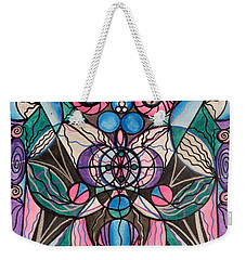 Arcturian Healing Lattice  Weekender Tote Bag